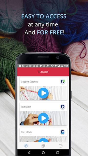 Knitting Genius - Free Patterns & Row Counter screenshot 6