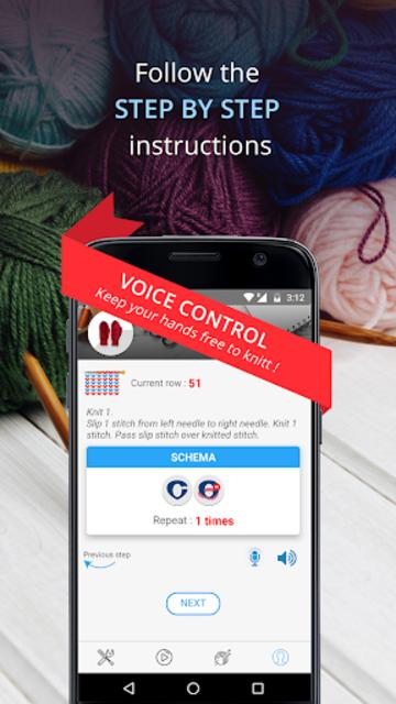 Knitting Genius - Free Patterns & Row Counter screenshot 12
