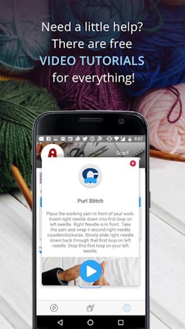 Knitting Genius - Free Patterns & Row Counter screenshot 13