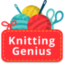 Icon for Knitting Genius - Free Patterns & Row Counter