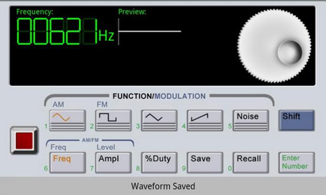 Waveform Generator screenshot 2