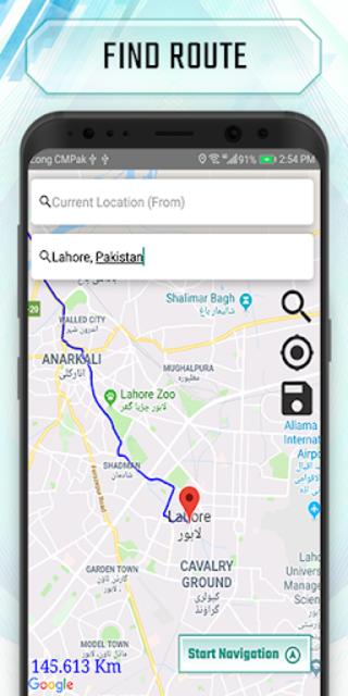 Truck route planner : car& truck route maps online screenshot 3