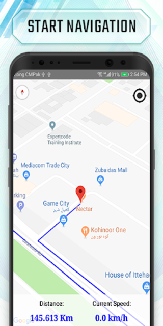 Truck route planner : car& truck route maps online screenshot 4