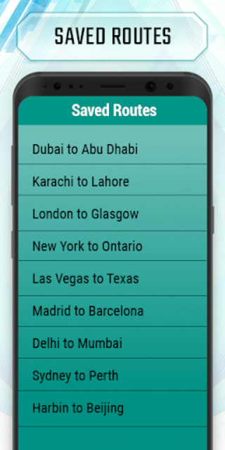 Truck route planner : car& truck route maps online screenshot 5