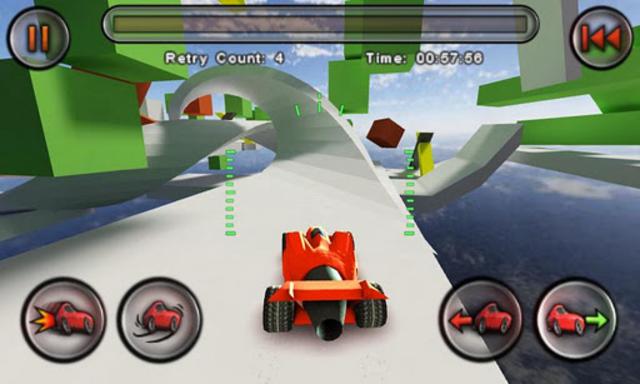Jet Car Stunts screenshot 3