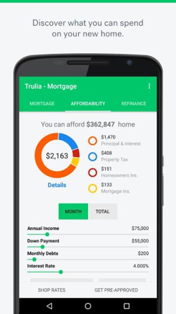 Trulia Mortgage Calculators screenshot 2
