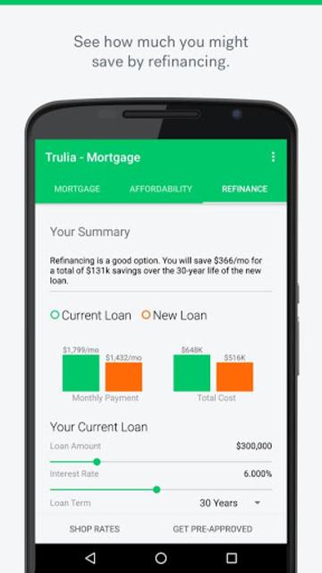 Trulia Mortgage Calculators screenshot 3