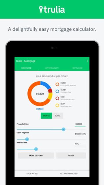 Trulia Mortgage Calculators screenshot 6