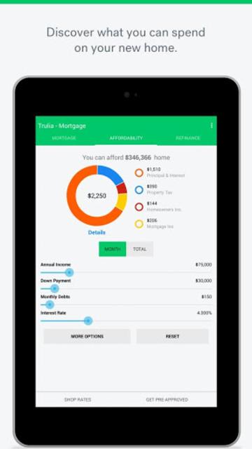 Trulia Mortgage Calculators screenshot 7