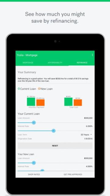 Trulia Mortgage Calculators screenshot 8