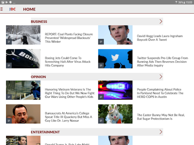 The Daily Caller screenshot 9