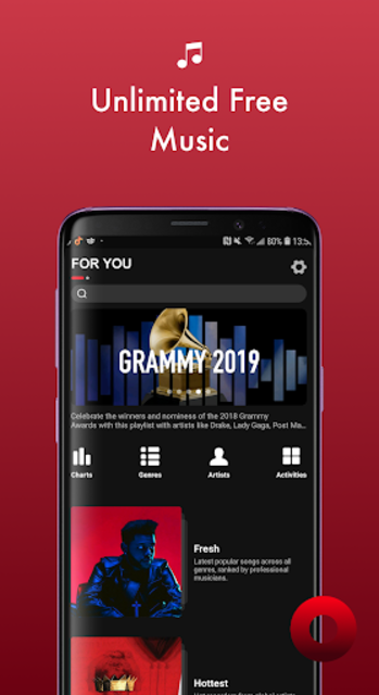 Music MAX - Online Music Player & Music Free screenshot 2