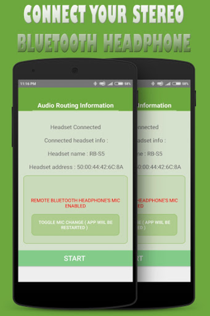 Bluetooth Ear (With Voice Recording ) screenshot 1