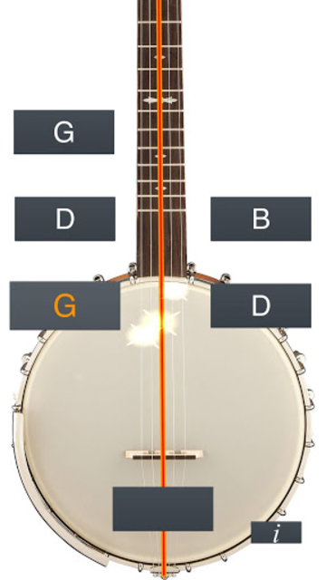 Banjo Tuner Simple screenshot 1