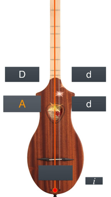 Dulcimer Tuner Simple Mixolydi screenshot 2