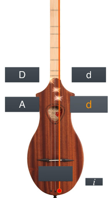Dulcimer Tuner Simple Mixolydi screenshot 5