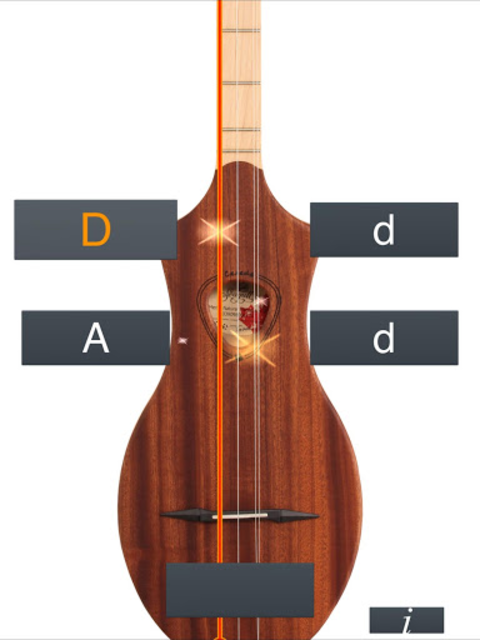 Dulcimer Tuner Simple Mixolydi screenshot 6