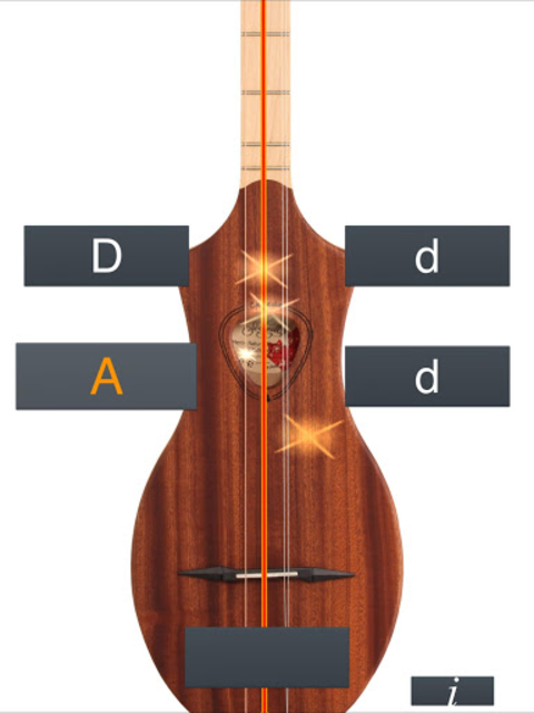 Dulcimer Tuner Simple Mixolydi screenshot 7