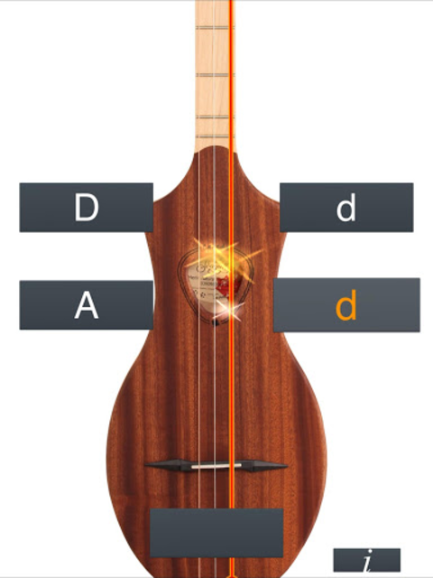 Dulcimer Tuner Simple Mixolydi screenshot 10