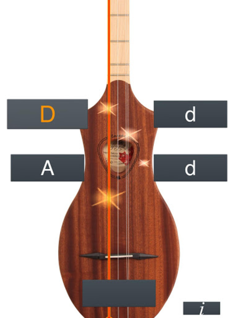 Dulcimer Tuner Simple Mixolydi screenshot 11