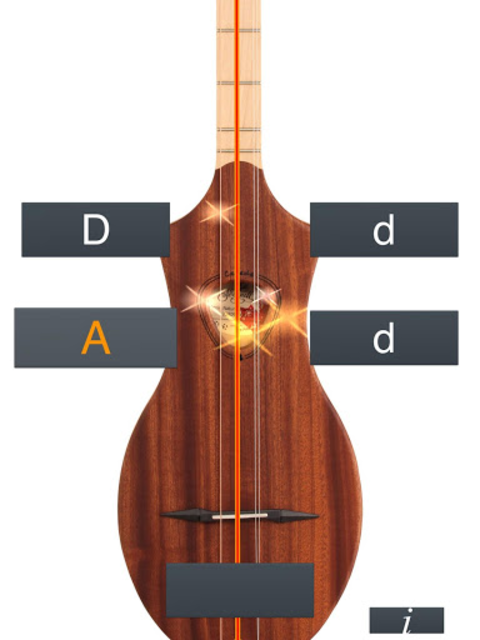 Dulcimer Tuner Simple Mixolydi screenshot 12