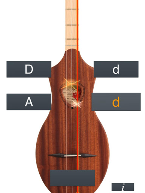 Dulcimer Tuner Simple Mixolydi screenshot 15