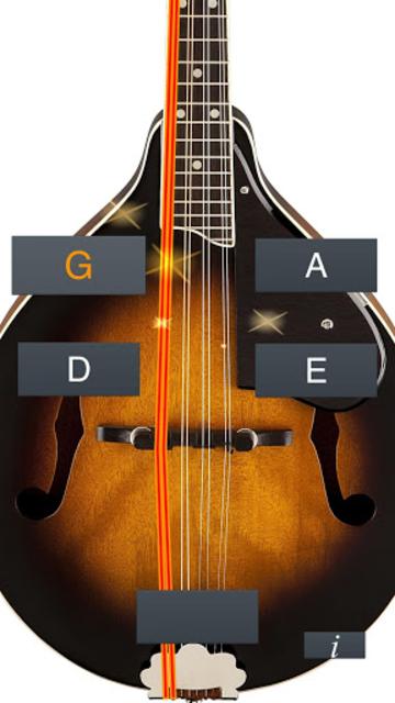 Mandolin Tuner Simple screenshot 1