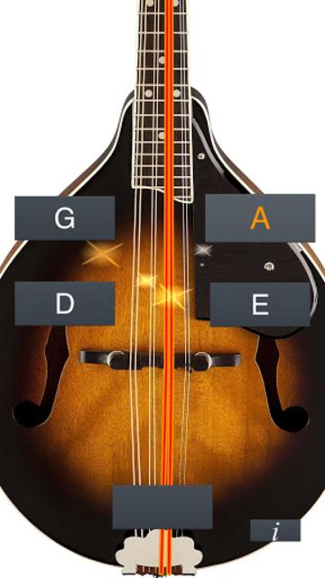Mandolin Tuner Simple screenshot 2