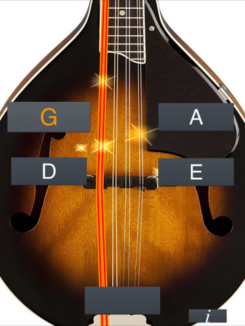 Mandolin Tuner Simple screenshot 6