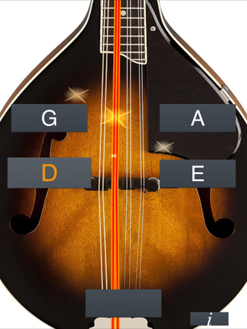Mandolin Tuner Simple screenshot 7
