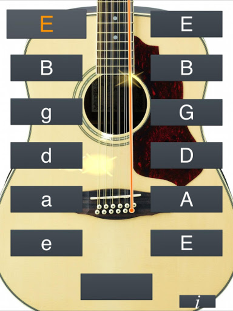 12-String Guitar Tuner Simple screenshot 6