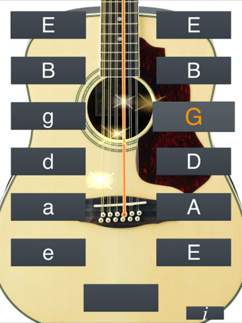 12-String Guitar Tuner Simple screenshot 7