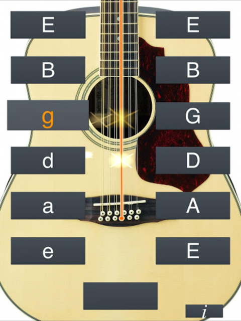 12-String Guitar Tuner Simple screenshot 10