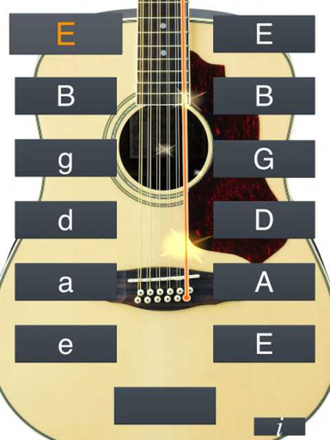 12-String Guitar Tuner Simple screenshot 11