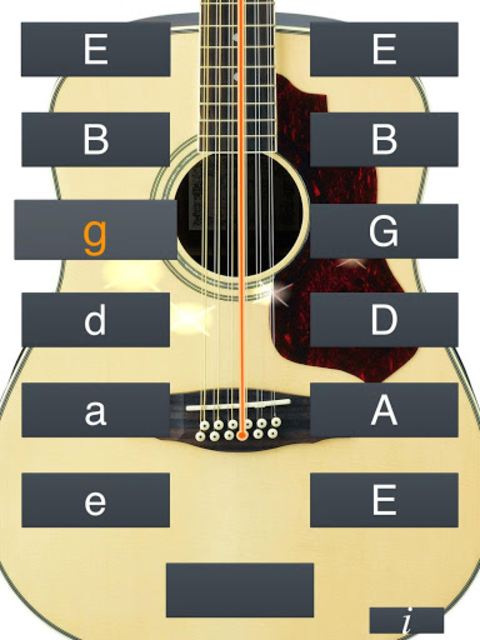 12-String Guitar Tuner Simple screenshot 12