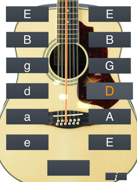 12-String Guitar Tuner Simple screenshot 15