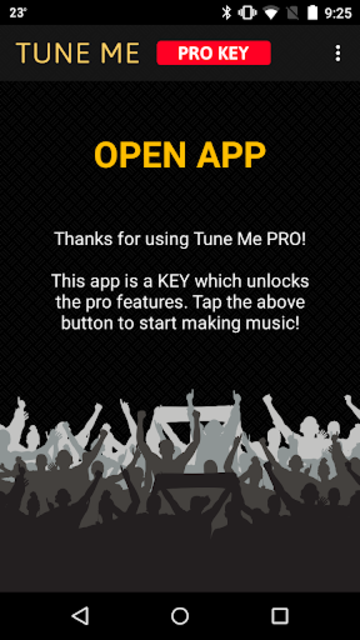 Tune Me — PRO Key screenshot 1