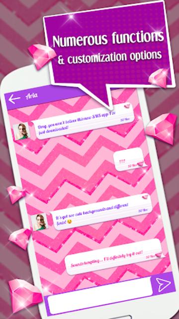 Cute SMS Texting App screenshot 2