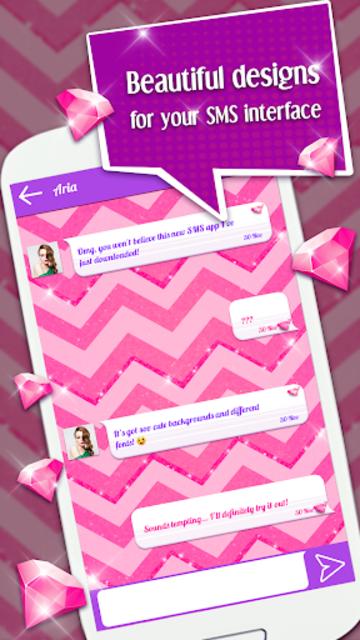 Cute SMS Texting App screenshot 5