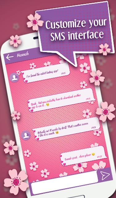Cute SMS Texting App screenshot 8