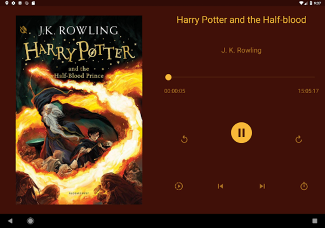 NavBooks - Audiobooks with offline Wear OS support screenshot 9