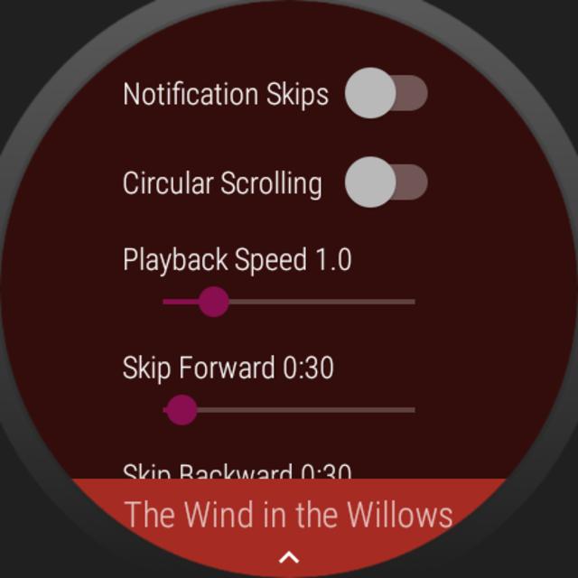 NavBooks - Audiobooks with offline Wear OS support screenshot 19