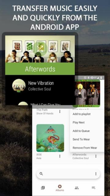 NavMusic - Wear OS Offline Music Player & Media screenshot 1