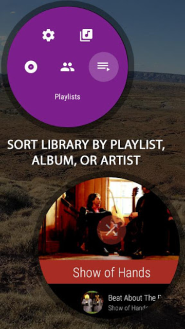 NavMusic - Wear OS Offline Music Player & Media screenshot 10