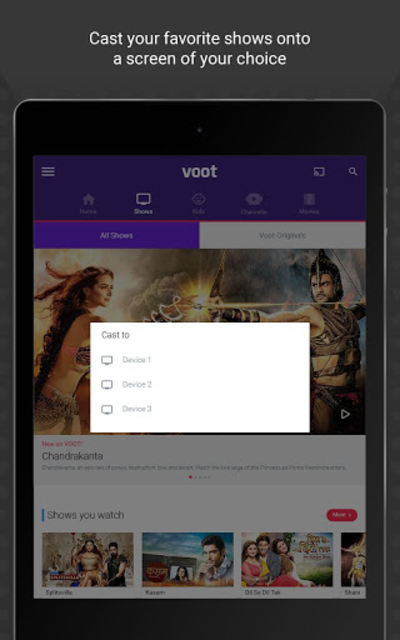 Voot - Watch Colors, MTV Shows, Live News & more