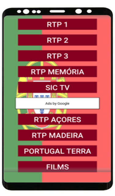 Portugal TV : Direct and Replay 2019 screenshot 2