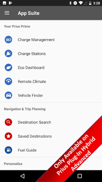 Toyota Entune® screenshot 3