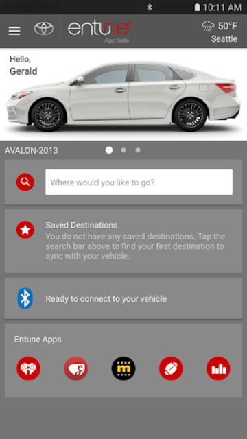Toyota Entune® screenshot 1