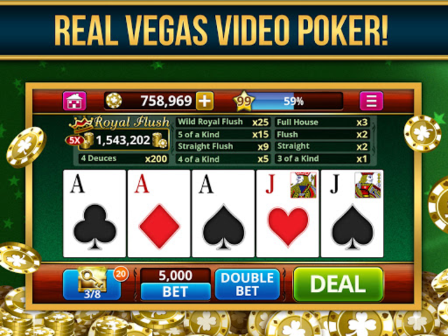 VIDEO POKER OFFLINE FREE! screenshot 4