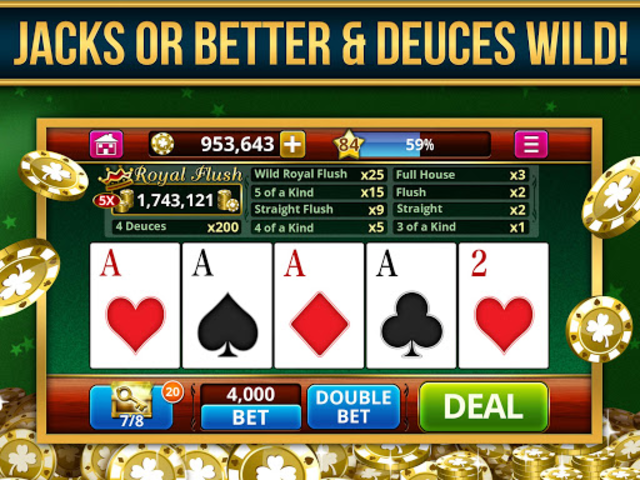 VIDEO POKER OFFLINE FREE! screenshot 9